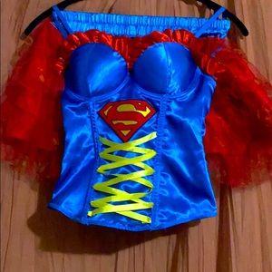 DC SuperWoman Corset Costume!